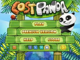 Lost Panda main menu by VVVp