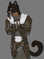 Khajiit WIP by Spindl3-Wolf