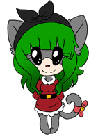 .pc.Christmas Cat Doll by AshleyShiotome