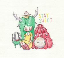 Stay Sweet by Hannakin