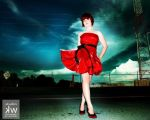 Lady In Red by Foxy-Cosplay