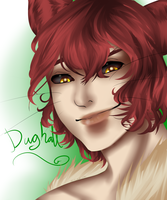 Dughall, the face of the prankster by SquishyLeviathan
