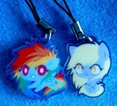 RD and DH charms by ponymonster