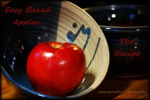 Easy baked apples...the recipe by LadyAliceofOz