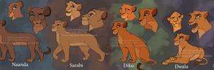 The Four Sisters by Anyahs