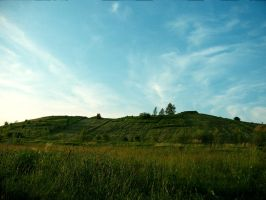 Grassy Hill by Pinionist