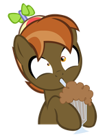 Commission MLP Vector -  Button Mash MilkshakeRace by MLPBlueRay