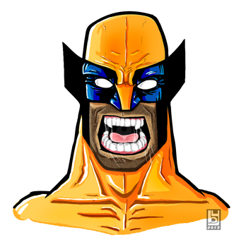 Wolverine by hannibal870