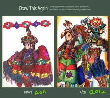 Draw this Again: Powwow by Squireprincess