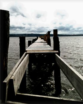 Culross Jetty by saving-an-apocalypse
