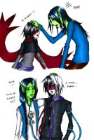 Some things never change when it comes to friends by angelz-devil