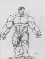 Incredible Hulk by lorkalt