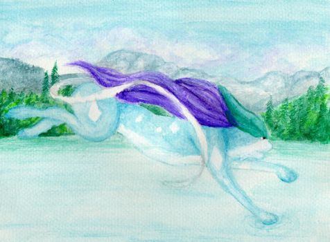 Suicune by africanwilddog