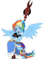 Rainbow Dash, The Greatest Soldier by halotheme