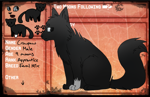 Crowpaw App for TMF by Dovewing145