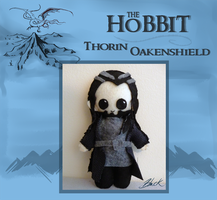 The Hobbit - Thorin Oakenshield plushie by caycowa