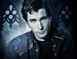 Christian Bale by LanaArts
