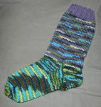 Nature ''raggsokk'' socks by KnitLizzy