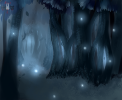 Blue Forest by Corporal-Caffeine