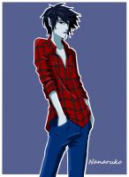 Marshall Lee - Adventure Time by Nanaruko
