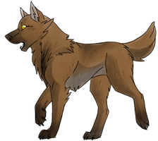 Wolf Form by animalstomp