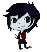 Marshall Lee Chibi by xXangelbiteXx