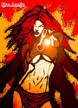 Madelyne's Inferno by kiss-lamia-lilith