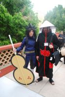 Uchiha Madara and Itachi by miss-a-r-t