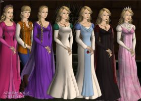 Princess Odette, Game of thrones style by Inuyashasmate