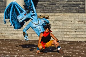 Blue Dragon 23 by LarsVanDrake
