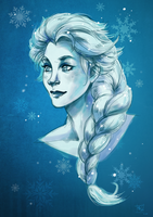 Lady of Arendelle by Clovernight