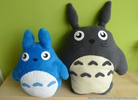 Comission: Totoro by WitchBehindTheBush