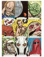 Star Wars sketch cards 4 by JasonGoad