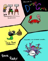 Doodles for Doodle Grove, First Incarnation by VladimirJazz
