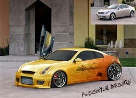 Infiniti G35 By Alesstyle by TheAlessandro