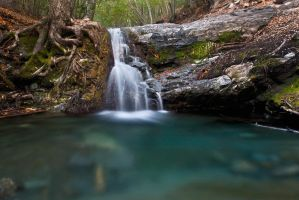 Rose Valley Waterfall2 by CGPhotography