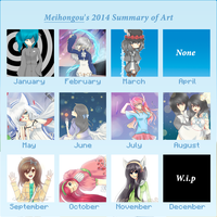 2014 Art summary by Meihongou