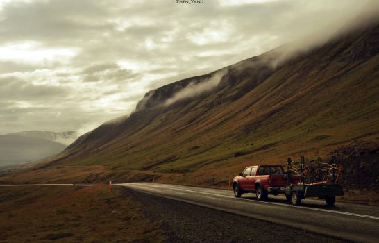 The nordic road by Zhen-Yang