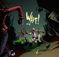 Left 4 Dead: Louis + The Witch by karniz