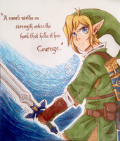 And His Name Was Link by ReddSkye