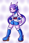Commission: Sash Lilac by JezMM