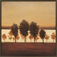 Calm-Tree-Grove-At-Dusk by ModernArtist123