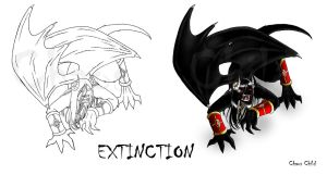 WOF Concept art - Extinction by Chaos--Child