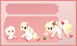 Reference sheet commission: Bat Pony by StarDust-Adoptables