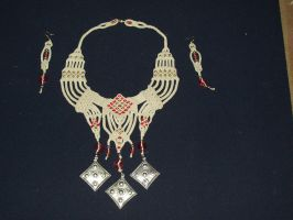 "Necklace: ""Rajasthan"" by Peter-The-Knotter"