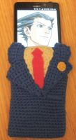 Phoenix Wright Cell Phone Case by Jjaystar94