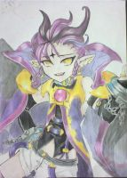 Veigas Terre- Grand chase by Onihime-chan