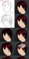 Hair tutorial by V3rc4