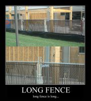 Long Fence is Long by CheshireCaterling