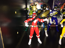 Power Rangers Toy Collection 009: Red Ranger by AnutDraws